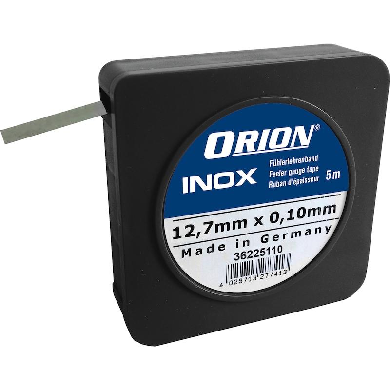 Ruban jauge de profondeur ORION INOX 0,20 mm, épaisseur nom. 12,7 mm x 5 m - Ruban jauge de profondeur