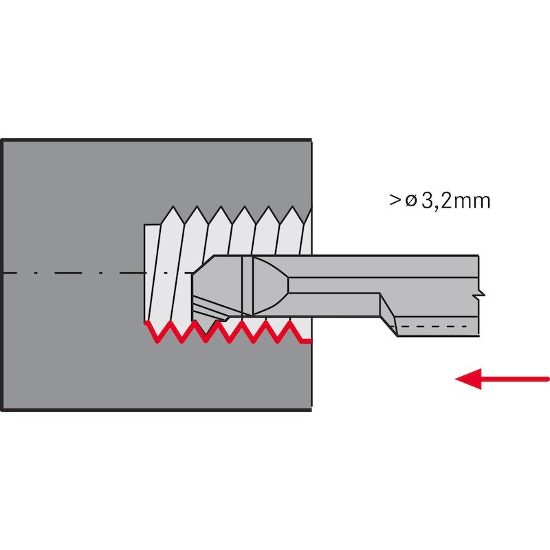 Plaquette à saigner miniature ATORN AIR 1,5 L6 A60 HC5615 16,269 - Plaquette à saigner miniature de type AI HC5615
