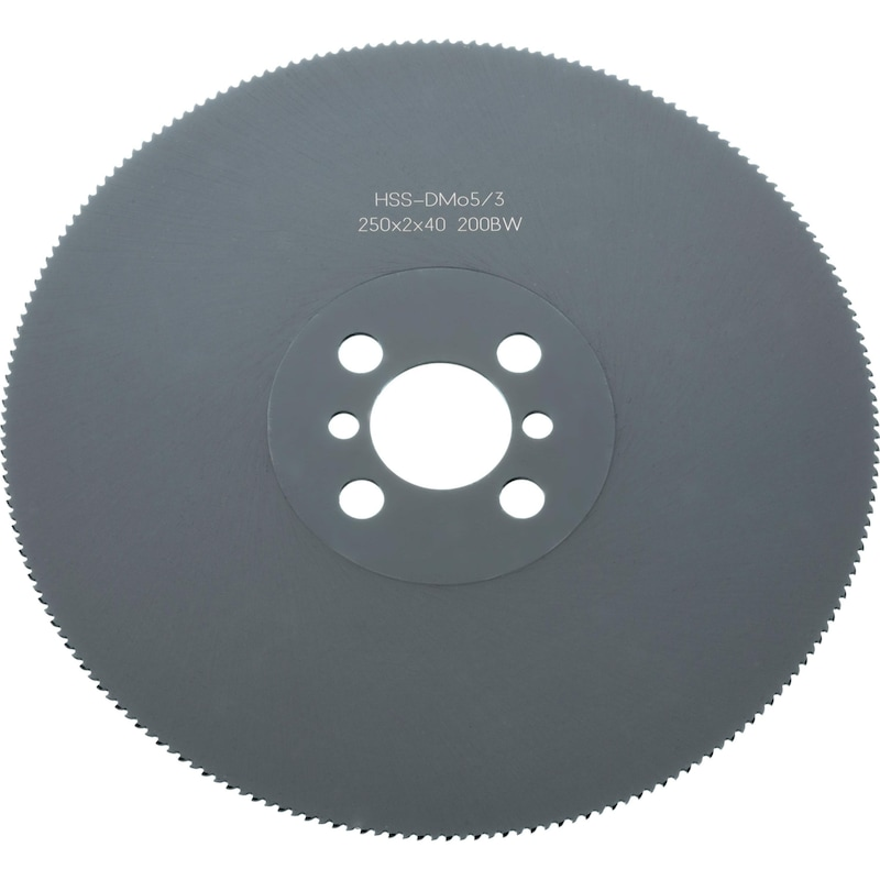 Metal circular saw blade HSS - 1