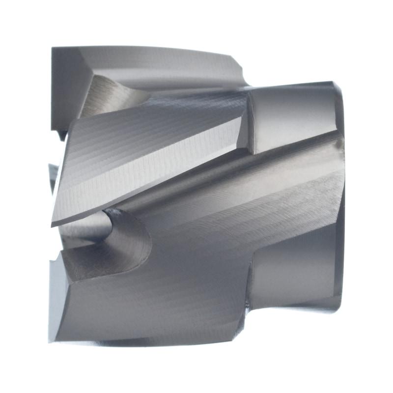 BILZ ters havşa açıcı, 180° kılavuz, HSS, 18,0mmx8 mm, T=4 - Ters havşa açıcı, 180°, sökülebilir HSS kılavuz ile