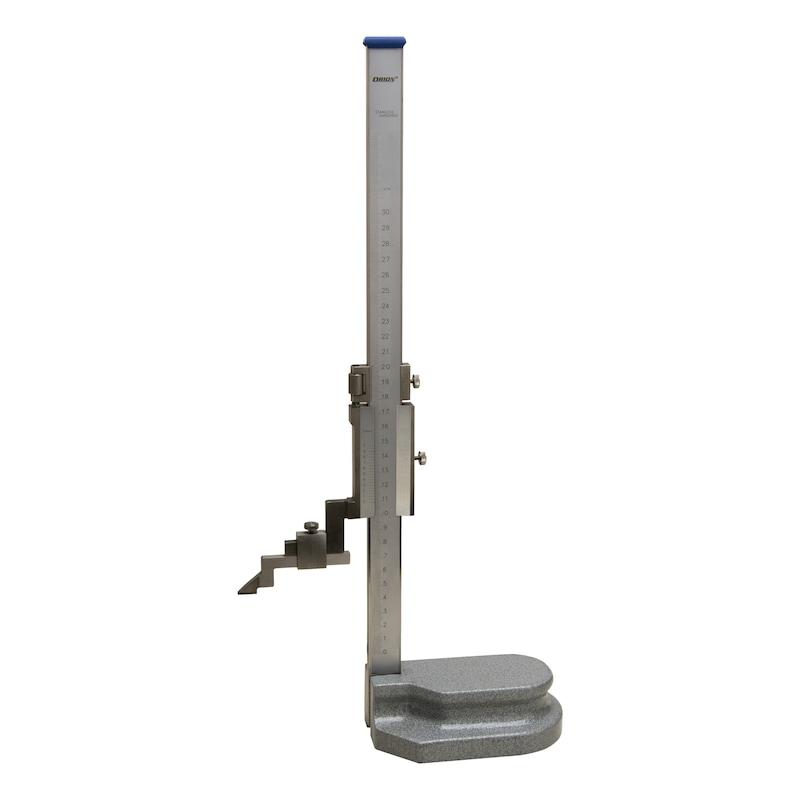 ORION Höhenreißer 300 mm Nonius 0,05 mm mit Hartmetallreißnadel - Höhenreißer