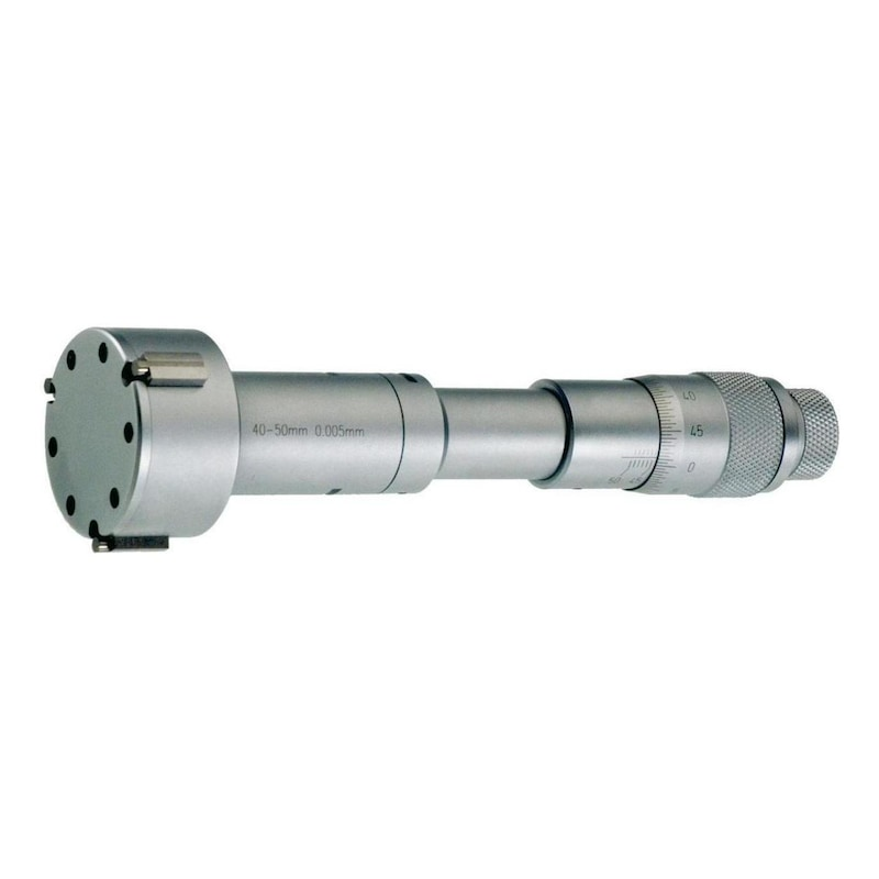 ORION iç mikrometre 8-10 mm, ayar halkalı, çantada - 3 noktalı iç mikrometre