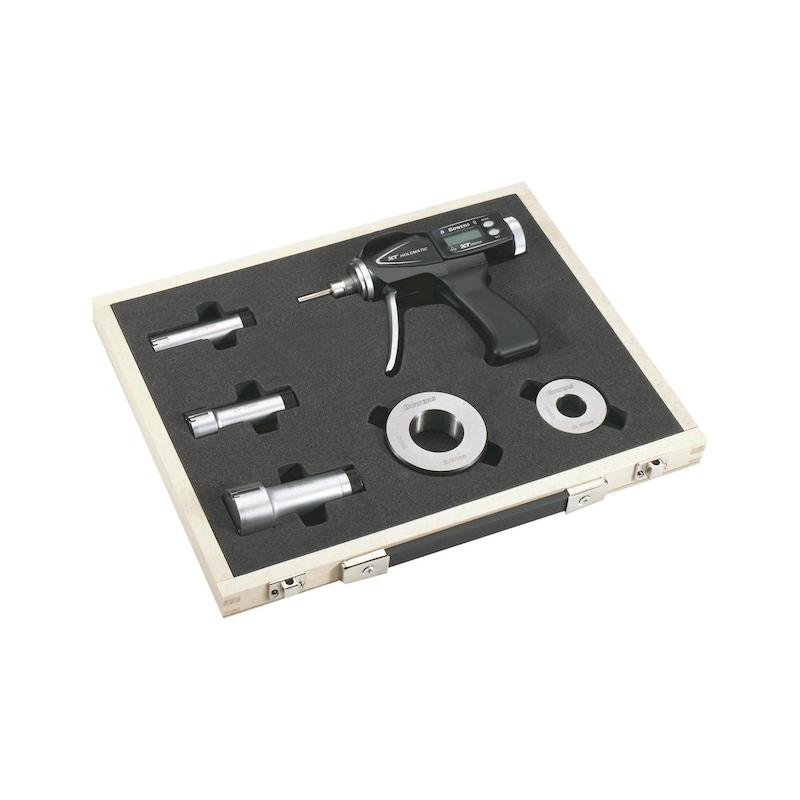 SYLVAC hızlı iç mikrometreler 100-150 mm, 0,001 mm artış, RS232 çıkışı, çanta - Elektronik 3 noktalı hızlı iç mikrometre seti