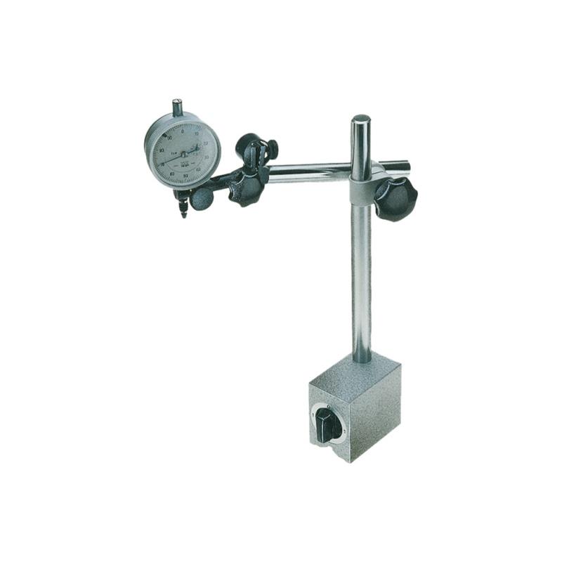 support de mesure magnétique, hauteur 285 mm, sans comparateur - Support de mesure