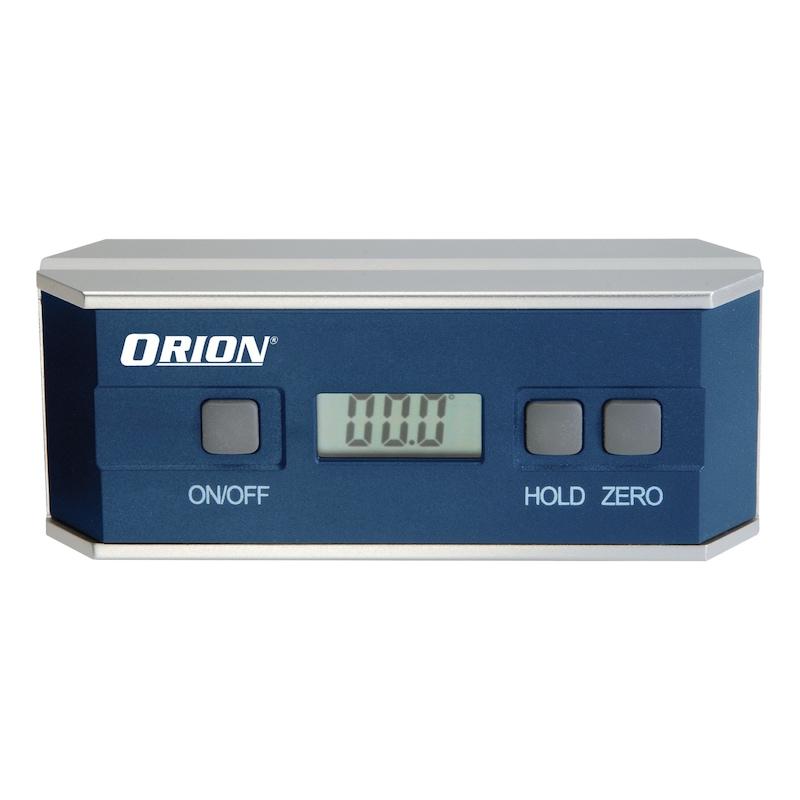 ORION EASYLEVEL szintezőkészülék, 153x31x60mm, 4x90 fok, skálaosztás 0,1 - Elektronikus dőlésszögmérő készülék