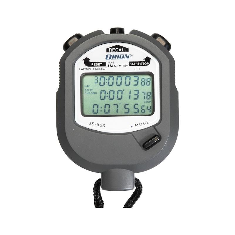 ORION elektronik kronometre, 6 mm rakam boyutu, 10 saat, 1/100 sn. - Elektronik kronometre