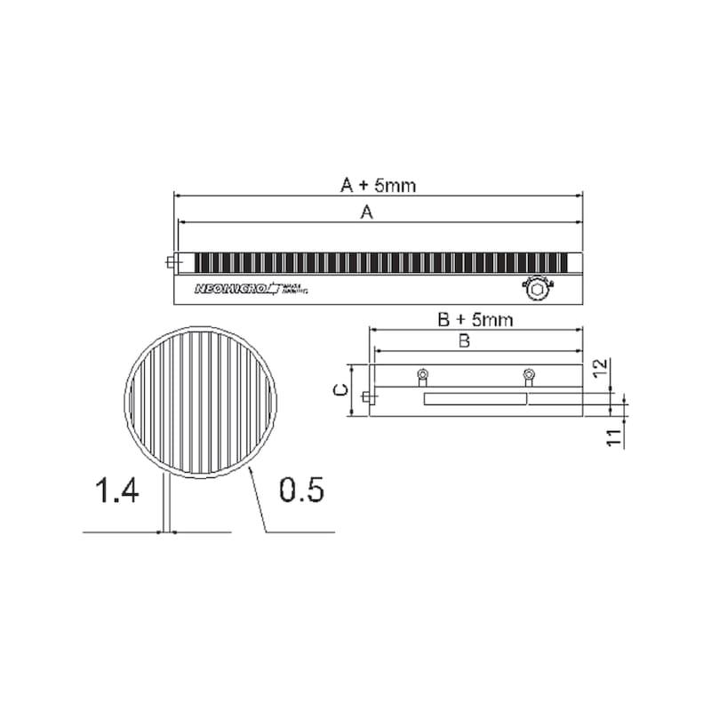 Permanentmagnet-Spannplatten |AKTION - 2