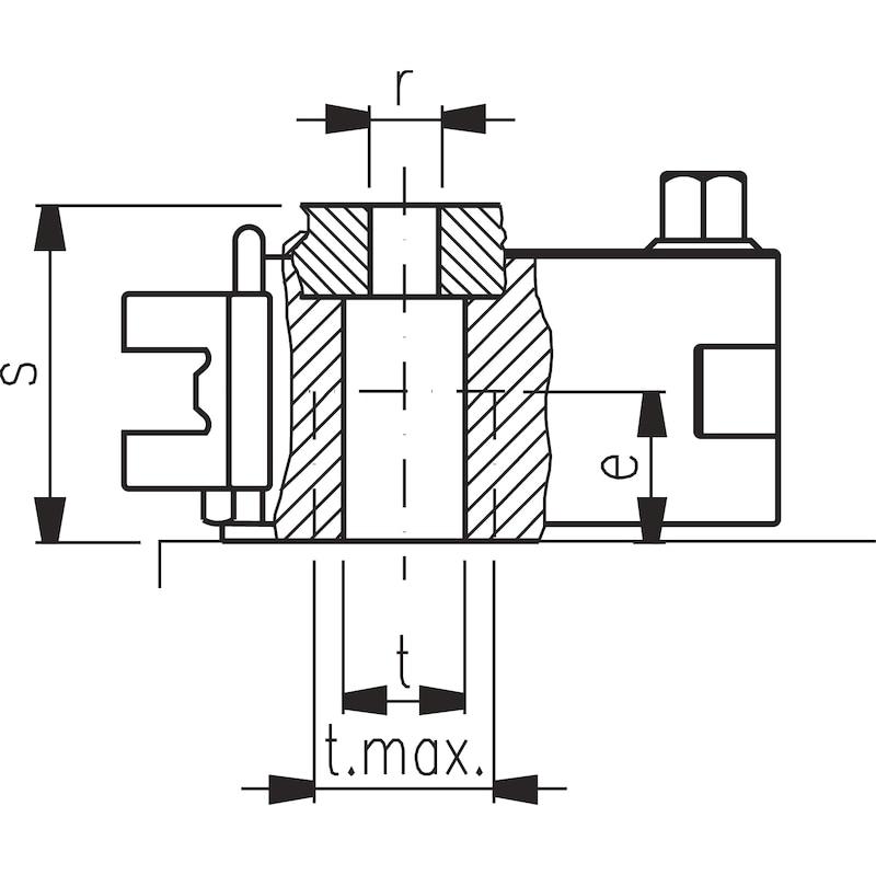 MULTIFIX Stahlhalterkopf C - MULTIFIX Schnellwechsel-Stahlhalter
