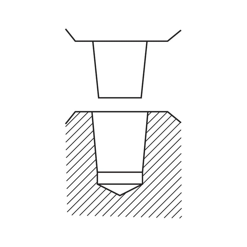 RÖHM Supra Boorkop 1,0 - 13 mm B 16 - Supra Boorkop