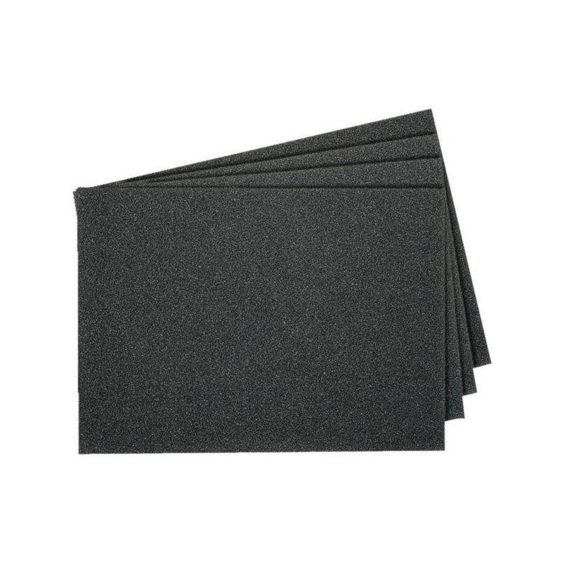 Papier au carbure de silicium 230 x 280 mm, grain 400 - Papier abrasif PS 11 résistant à l'eau