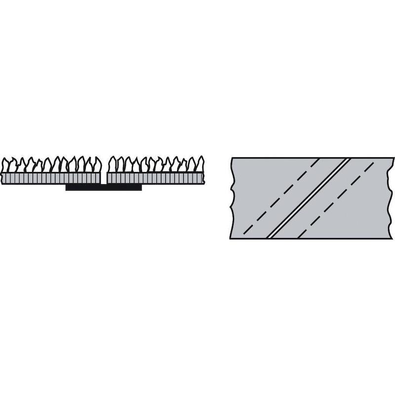 Courroies abrasives 100 x 950 mm, grain 150 - Courroies abrasives LS 309 X