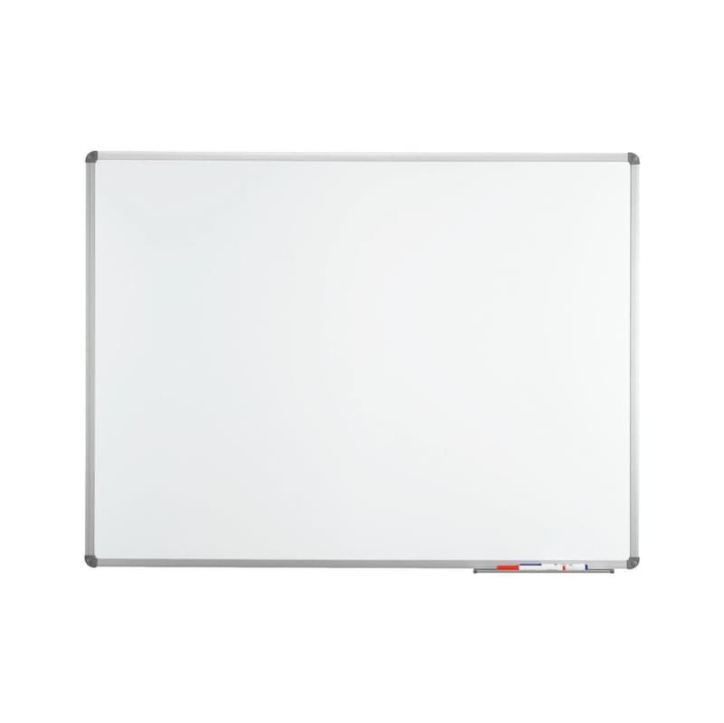 MAUL stand whiteboard 1000x1500 mm, sheet stl work surface, fastening materials - MAULstandard whiteboard