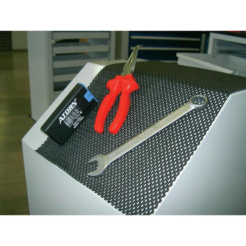 non-slip mat, roll, LxW 10.0x0.6 m, black - Anti-slip mats