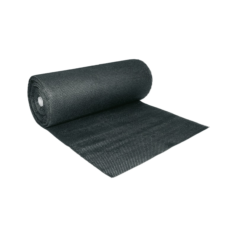 Antirutschmatte, Rolle LxB 10,0x0,6 m schwarz - Anti-Rutschmatten