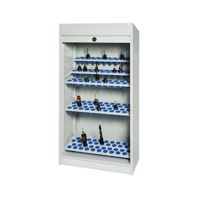 Roller Shutter Cabinets Equipped With Plastic Inserts Hahn Kolb
