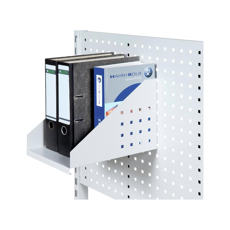 HK binder module H x W x D 250 x 250 x 300 mm RAL 7035 light grey - Binder module
