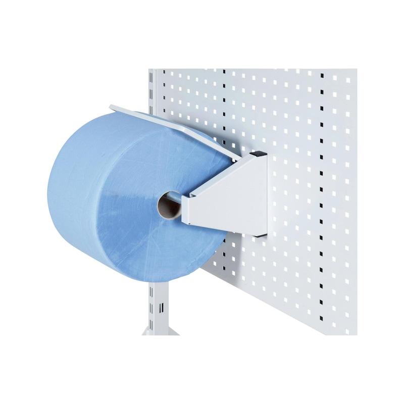HK paper disp. f. install. in perf. metal panel 10 x 10 mm, sheet sz. 38 x 22 cm - Paper dispenser