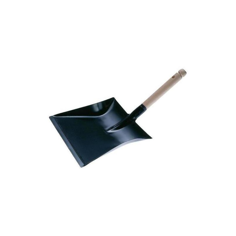 ORION dustpan, 220x200 mm, with wooden handle -
