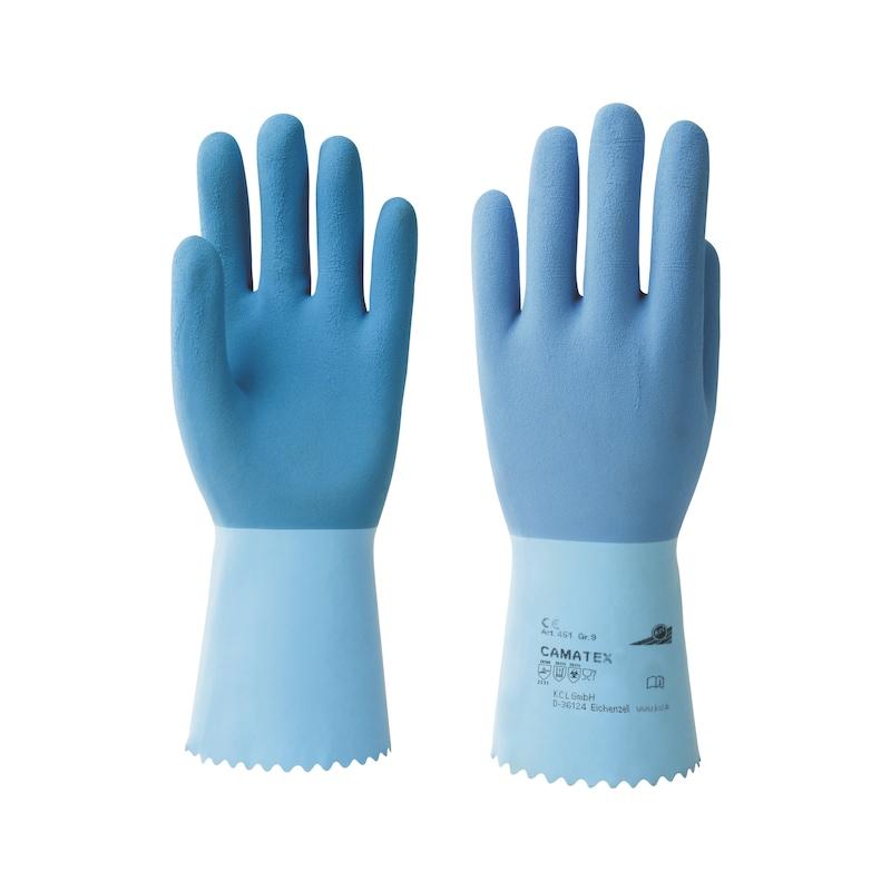KCL Chemikalien-Schutzhandschuh, Gr. 8, Typ Camatex 451+ - Chemikalien-Schutzhandschuhe |OUTLET