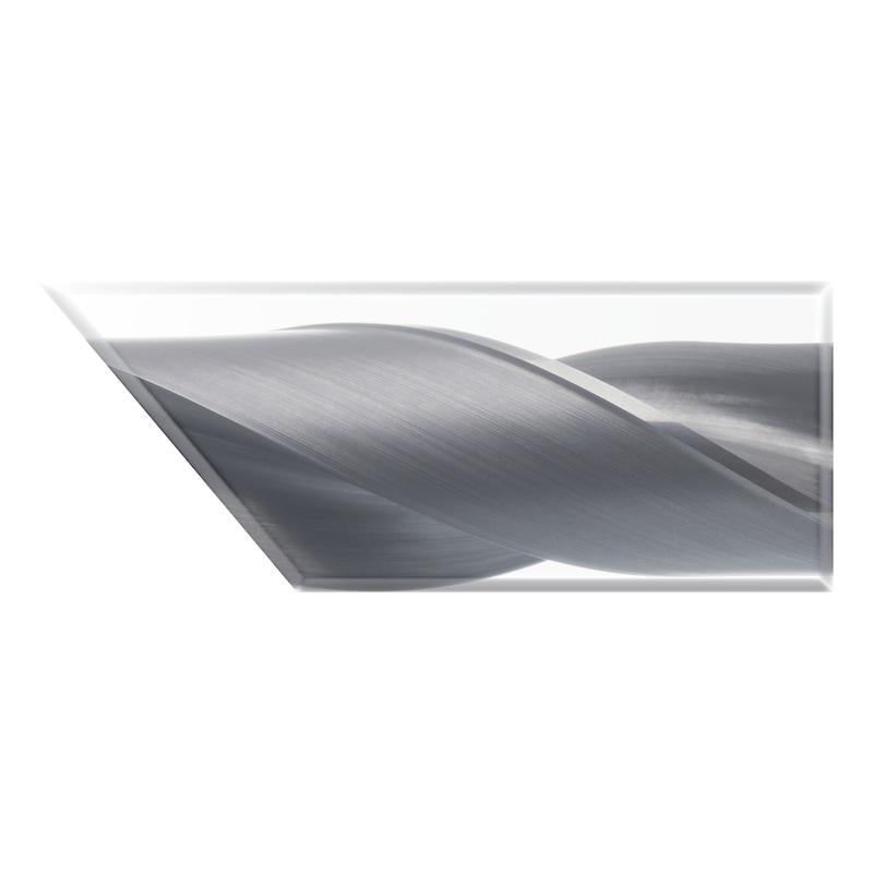 ATORN sert karbür matkap UNI TiAlNplus 3xD IC ile 9,8 mm düz mil HB - Yüksek performanslı matkap SC TiAlNplus HPC 3xD, iç soğutmalı, HB