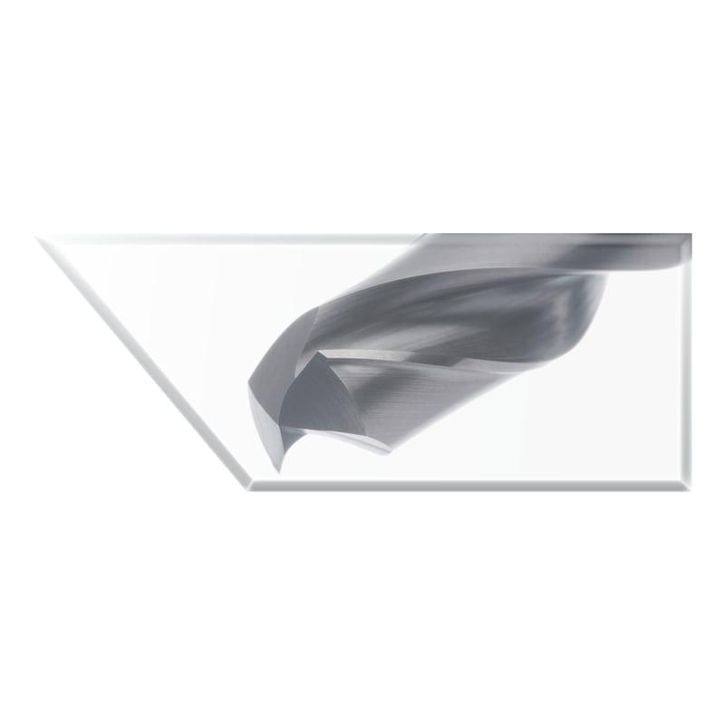 Foret en carbure ATORN UNI TiAlNplus 5xD sans RI 6,3 mm queue cylindrique HB - Foret hautes performances, carbure TiAlNplus HPC 3xD sans refroidissement interne HB