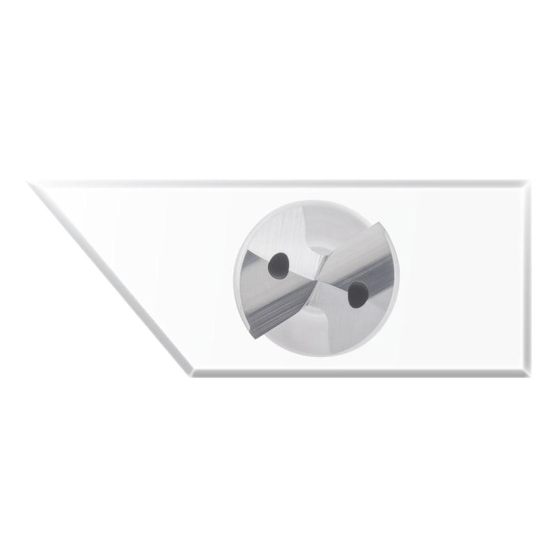 ATORN tömör keményfém fúró, UNI TiAlNplus, 5xD, b. hűtéssel, 2,7 mm - Nagy teljesítményű fúró, VHM, TiAlNplus, HPC, 5xD, belső hűtéssel, HA