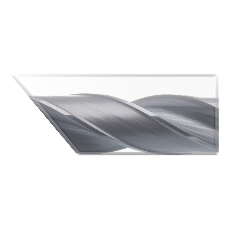 ATORN VHM Bohrer UNI TiAlNplus 12xD mit IK 4,5 mm - Hochleistungsbohrer VHM-TiAlNplus HPC 12xD mit IK HA