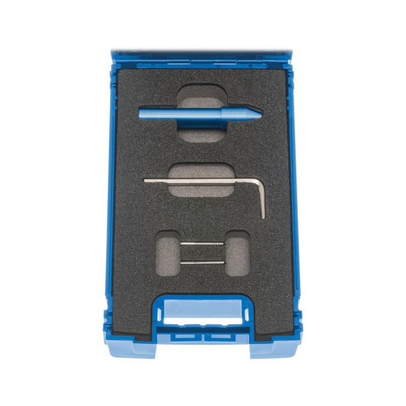 """ATORN Markierwerkzeug Durchmesser 12,0 mm Außendurchmesser Gehäuse 14 mm - Kennzeichnungswerkzeug """"Markierer-PRO"""" im Satz"""
