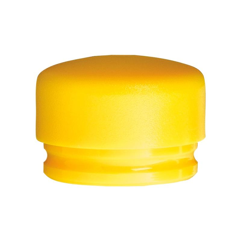 Embouts WIHA, polyuréthane, diamètre 45 mm, jaunes, dureté moyenne - Embouts de rechange en PU, jaune