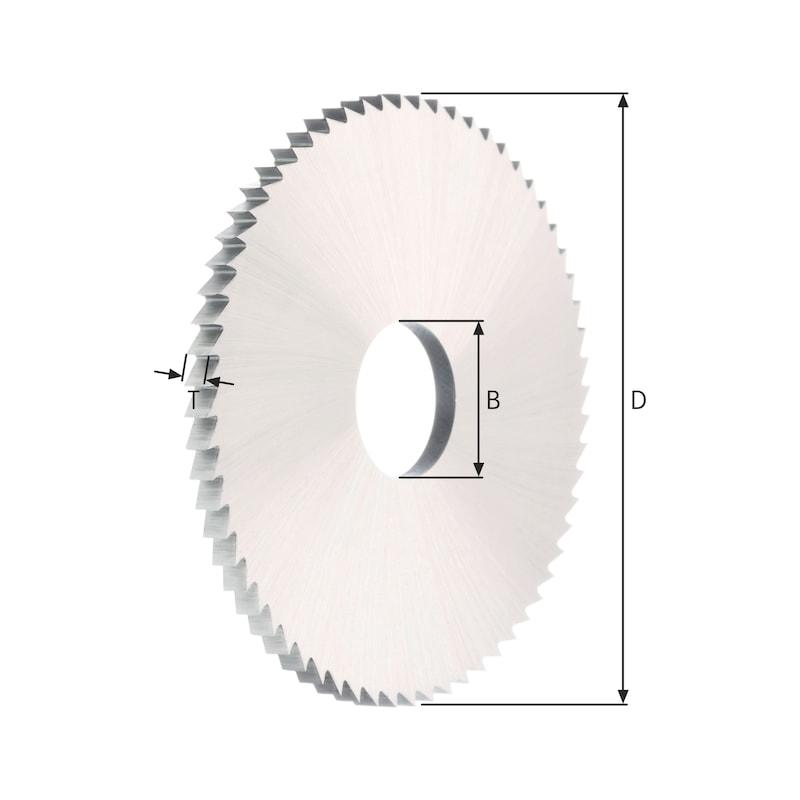 Metallkreissägeblatt VHM feinverzahnt Form A - 4