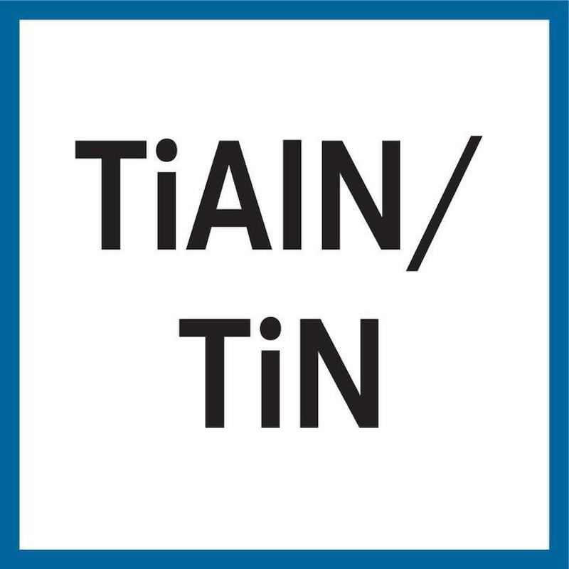 Foret métal en carbure ATORN, long avec refroidissement interne 7,7 mm TiAlN+TiN - Foret hautes performances, carbure TiAlN + TiN HPC 5xD avec refroidissement interne HB