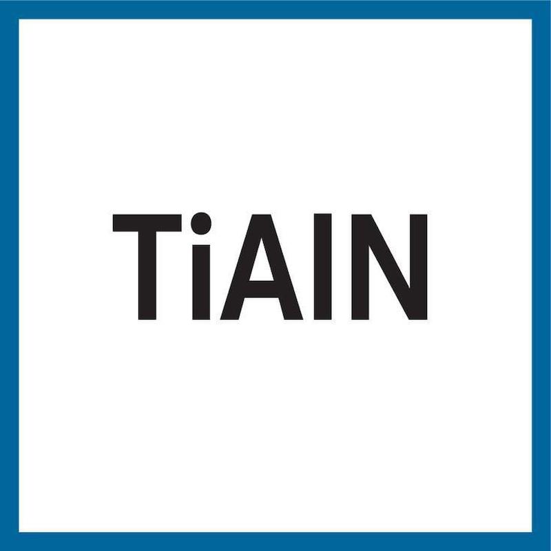 ATORN foret métal TLP HSS-TiAIN DIN 340 9,5 mm x 175 mm x 115 mm, 130° - Foret métal type TLP HSSE-TiAIN