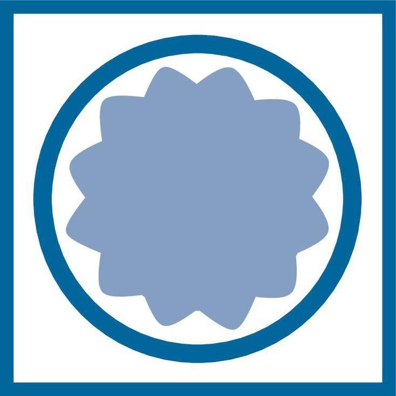 Clé à douilles ATORN, 1/4 pouce, 40 pièces, profil universel, ATORN n° 50500001 - Jeu de clés à douilles, 40pcs