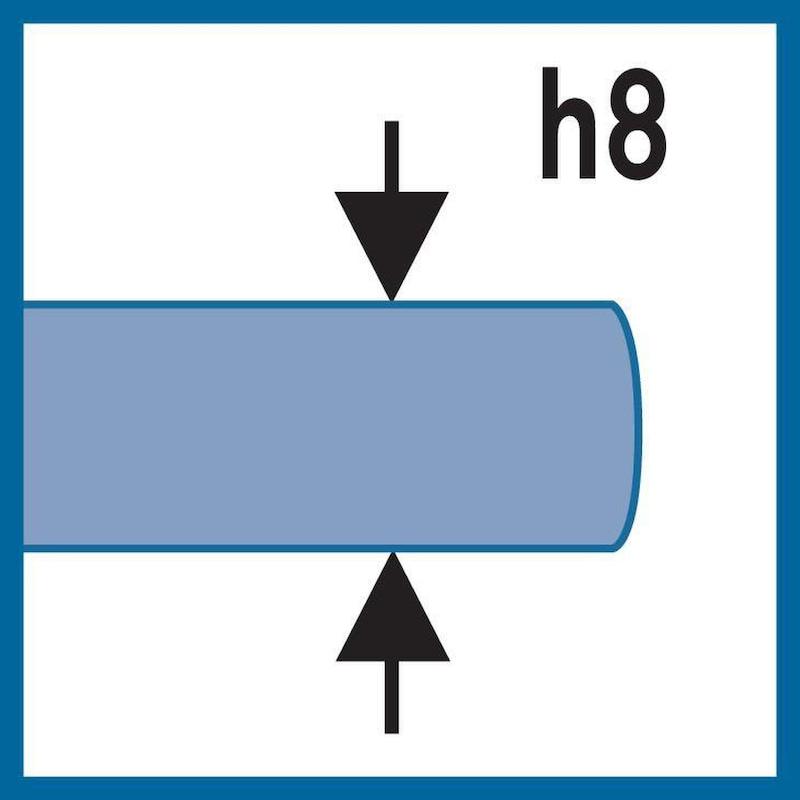 ATORN Spiralbohrer VA HSSE DIN 338 6,1 mm x 101 mm x 63 mm 130 Grad - Spiralbohrer Typ VA HSSE