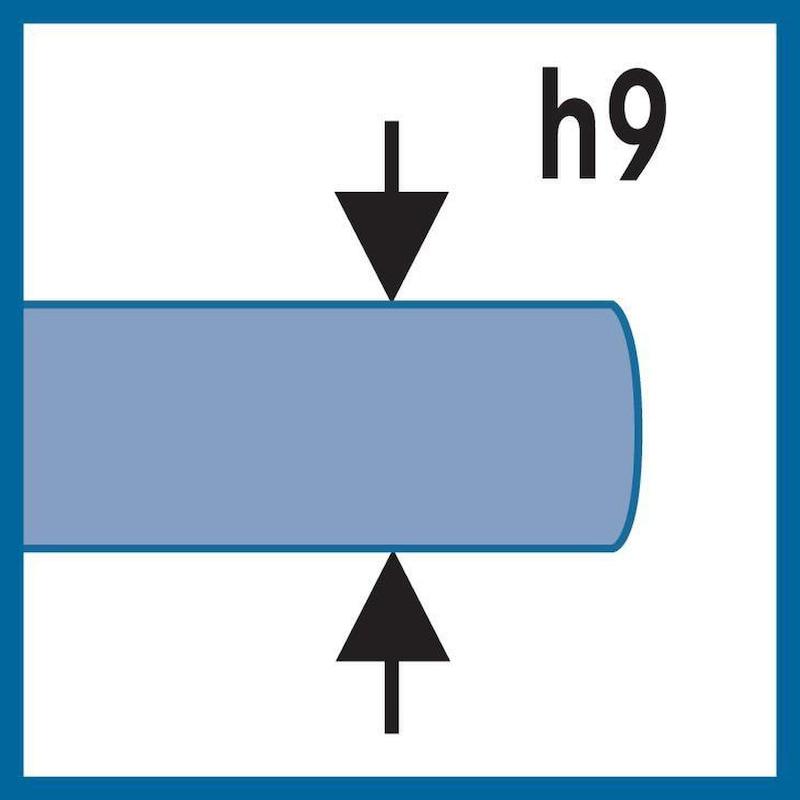 ATORN Maschinen-Gewindebohrer M 1,6 HSSE vaporisiert für Durchgangsloch - Maschinengewindebohrer HSSE