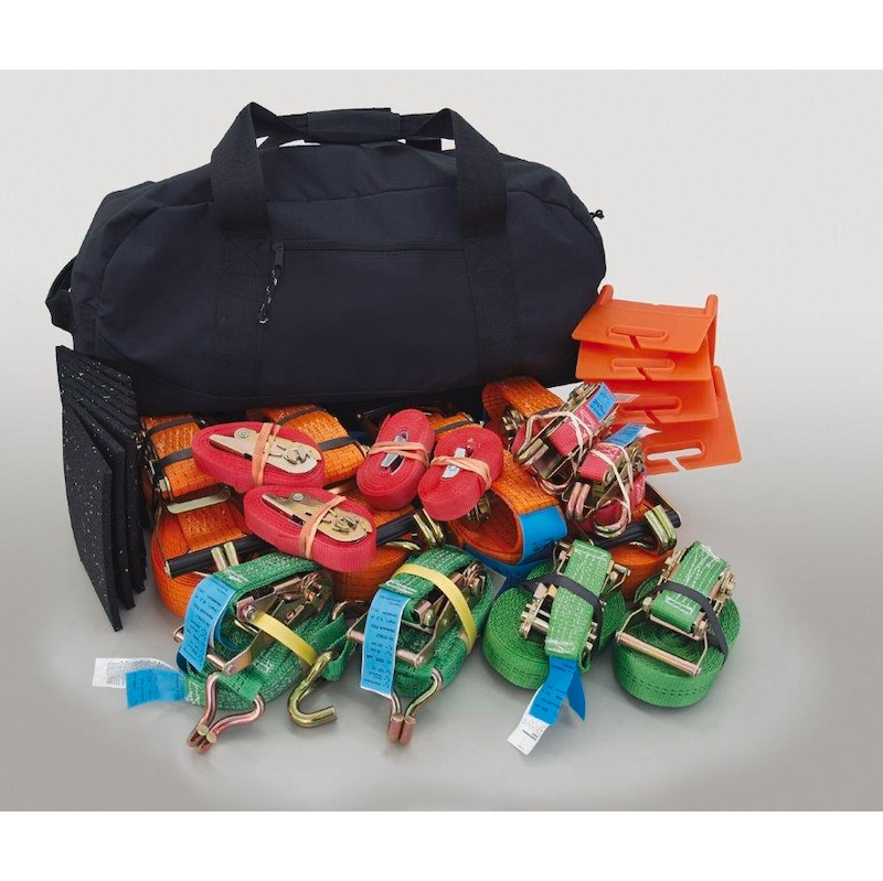 load securing set incl. sports bag -