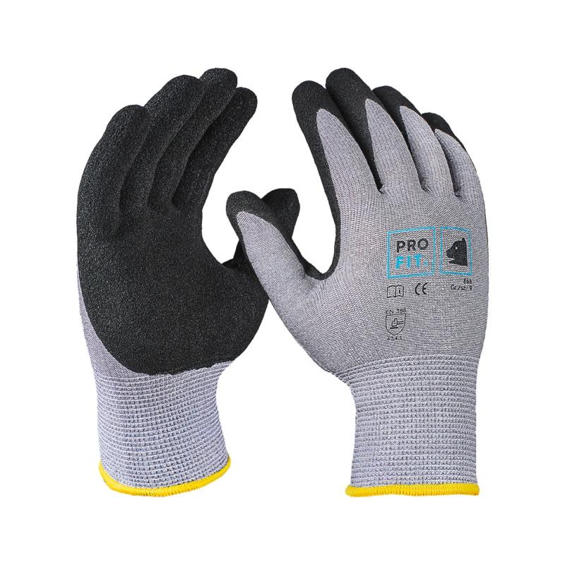 Gant protection anti-coupures PRO FIT, sup. HPPE gris, mousse nitrile, taille 8 - Gants de protection anti-coupures