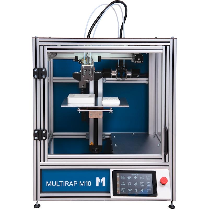 MULTEC Multirap M10 desktop 3D printer, print chamber 280x240x240mm - Multirap M10 3D printer