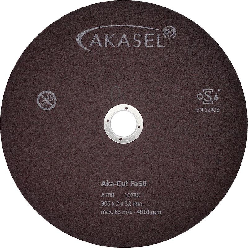 Korund-Trennscheiben Aka-Cut Fe50 - 350-700HV