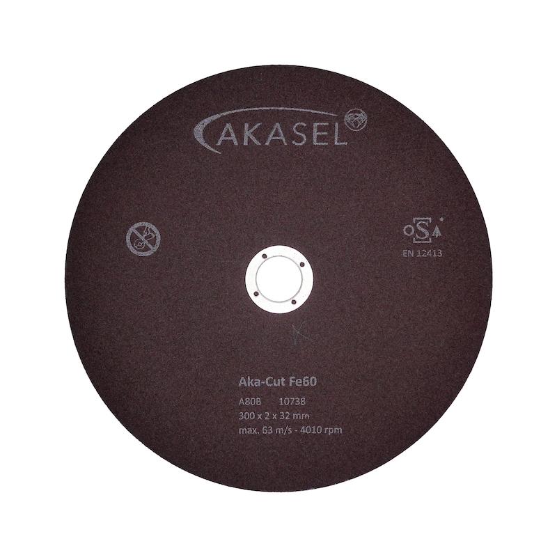 Korund-Trennscheiben Aka-Cut Fe 60 - 500-1000HV