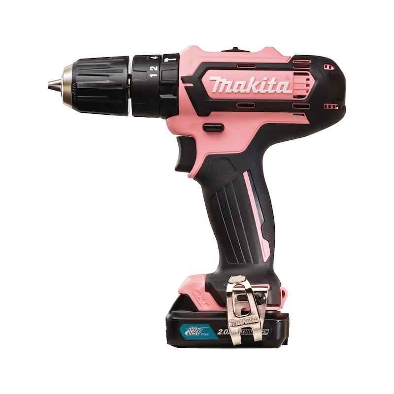 Makita HP331DSAP1 cordless impact drill driver, pink -