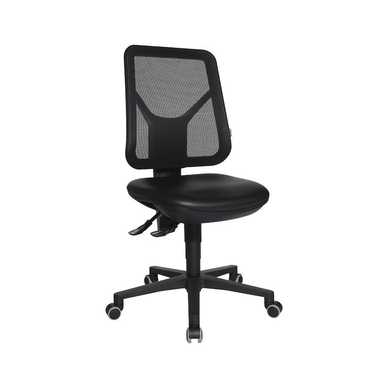 ATORN Arbeitsstuhl mit Hartbodenrollen - Arbeitsdrehstuhl