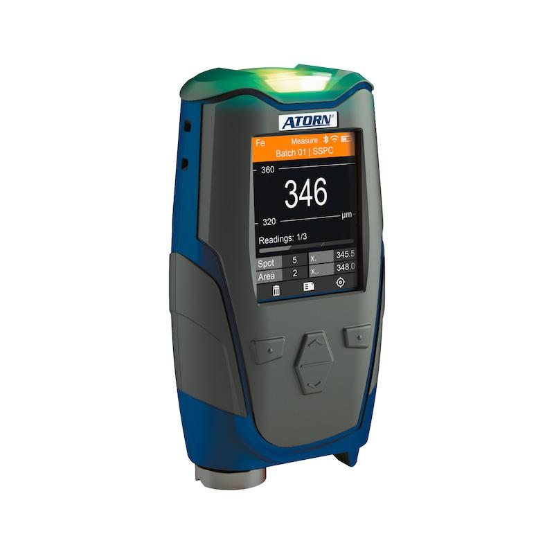 ATORN Schichtdickenmessgerät mit integrierter FNF-Sonde, Schutzart IP65 - Schichtdickenmessgerät