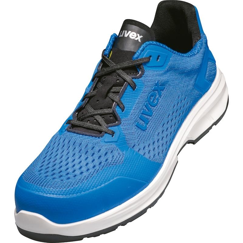 UVEX Sicherheits-Halbschuh S1, Gr. 36, uvex 1 sport, blau - Sicherheitshalbschuh uvex 1 sport blau |OUTLET