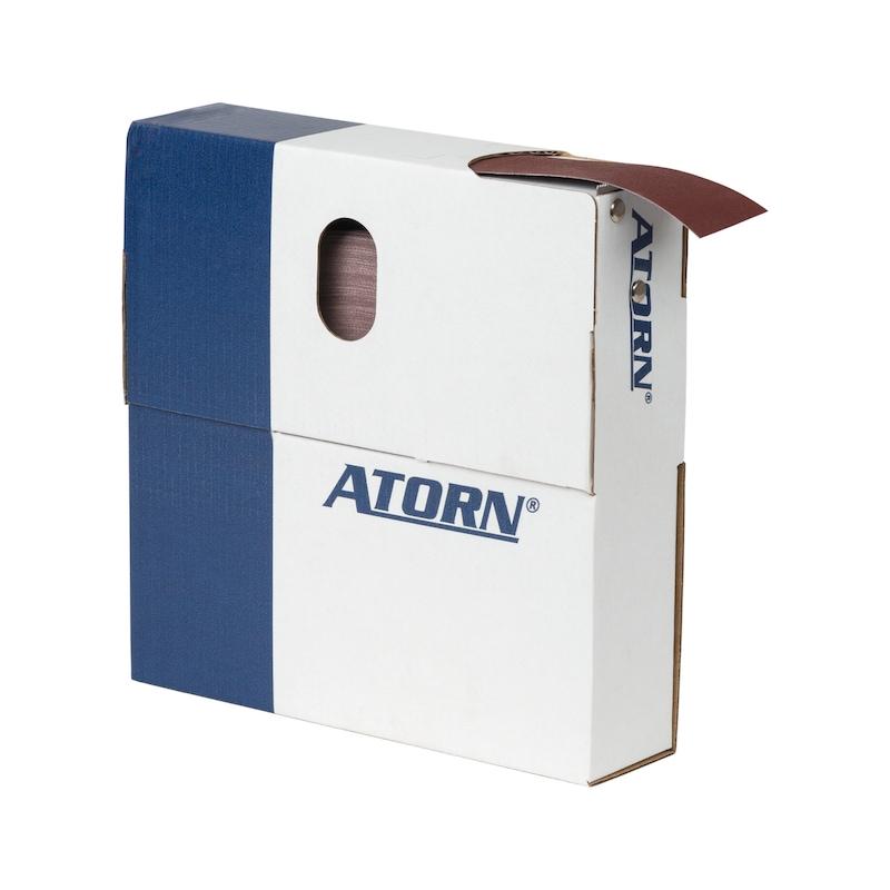 ATORN Schleifgewebe-Sparrolle in Abreißbox