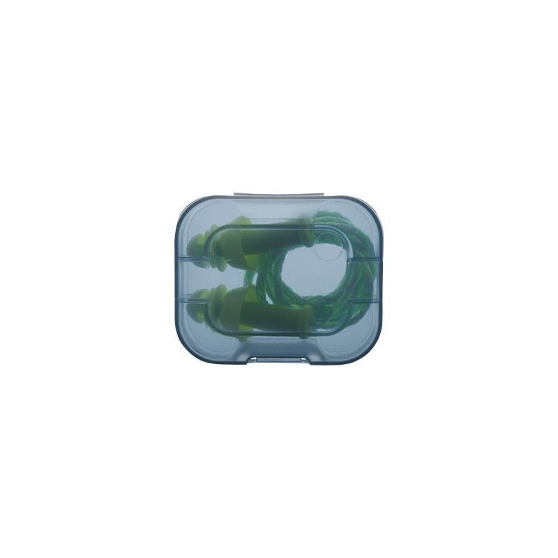 UVEX Gehörschutzstöpsel Whisper+ SNR 27 dB in Kunststoff-Hygienebox - Mehrweggehörschutzstöpsel mit Kordel
