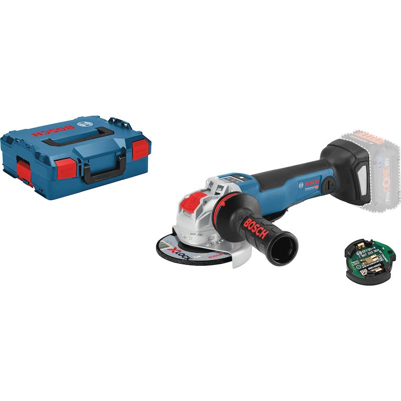 BOSCH Akku-Winkelschleifer GWX 18V-10 PSC X-Lock Scheibendurchmesser 125 mm - Akku-Winkelschleifer GWX 18V-10 PSC