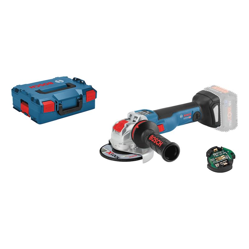 BOSCH Akku-Winkelschleifer GWX 18V-10 SC X-Lock Scheibendurchmesser 125 mm - Akku-Winkelschleifer GWX 18V-10 SC