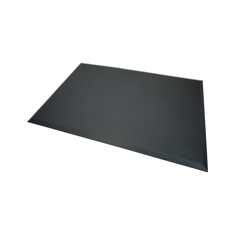 ATORN workplace mat, flame-retardant, 960 x 660 mm discs - Polyurethane workplace mats, flame retardant