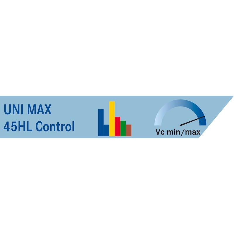Taraud ATORN HSSE UltraHL C 5156 45° filetage 1 po ISO2 S≤2.5xD CNC des. UNI - Taraud, HSSE Ultra HL G ISO 2 (6H) 45° (droite) 5156 C